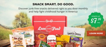 Love with Food  Subscription Box Review and Information