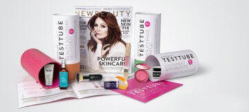 NewBeauty TestTube  Subscription Box Review and Information