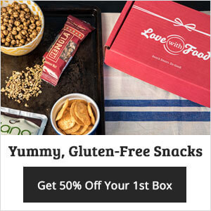 50% off 1st Love With Food Gluten Free Box