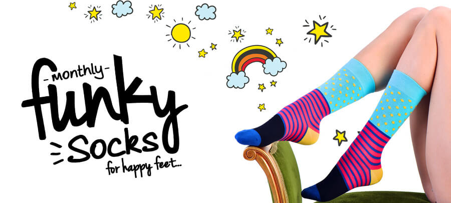 Go to Monthly Funky Socks