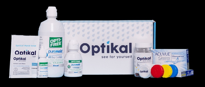 Optikal Contact Care Subscription Box