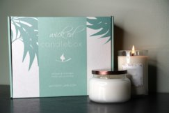 Candle Subscription + Spa Box  Subscription Box Review and Information