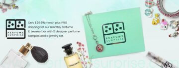 Perfume Surprise  Subscription Box Review and Information