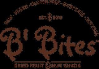 Logo of Coffee + B' Bites Vegan Snack Box